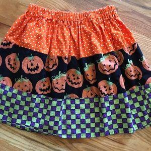 Boutique 7/8 Halloween skirt